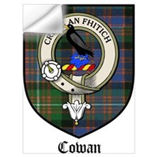 Cowan Clan Crest Tartan Wall Decal